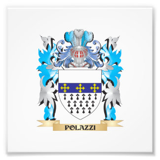 Polazzi Coat of Arms - Family Crest Photograph