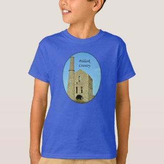 Poldark Country Mine Ruins Cornwall England T-Shirt