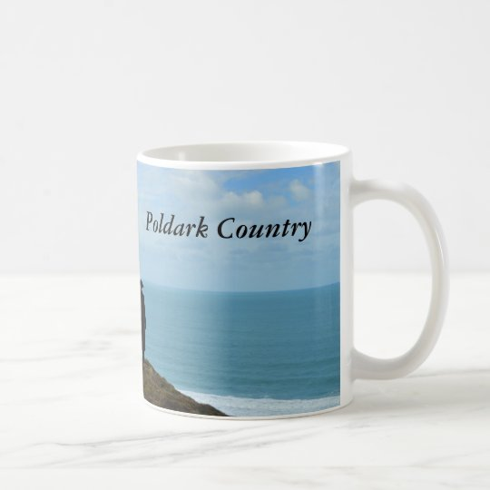 Poldark Country Photo Cornwall England Coffee Mug