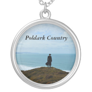 Poldark Country Photo Cornwall England Silver Plated Necklace