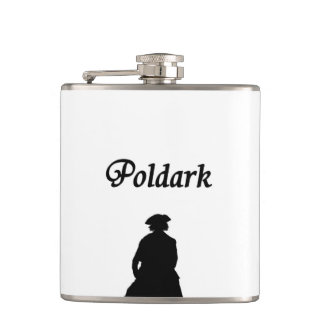 Poldark Hip Flask