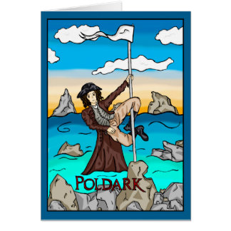POLDARK POLE Greeting Card