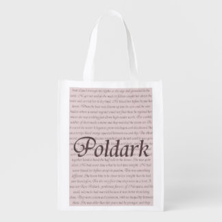Poldark Quote Reusable Grocery Bag