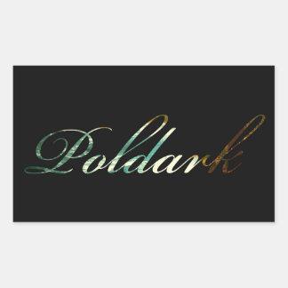 Poldark Rectangular Sticker