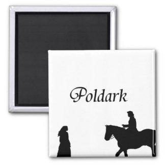 Poldark Square Magnet