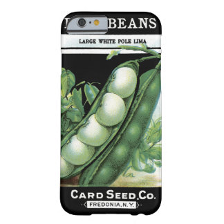 Pole Beans Card Seed Co. packet Vintage Fredonia Barely There iPhone 6 Case