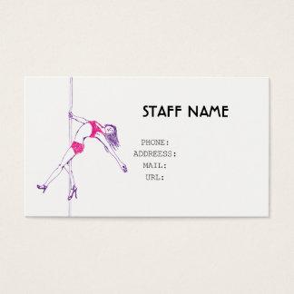 pole danse BUSINESS CARD
