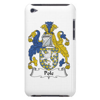 Pole Family Crest iPod Case-Mate Case