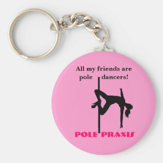Pole Friends Keychain