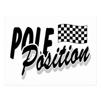 Pole Position Post Card