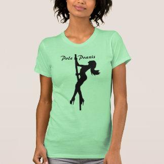 Pole   Praxis Climbing Green Shirt