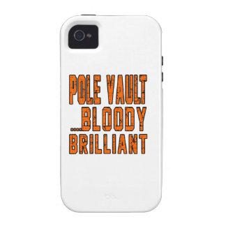 Pole vault Bloody Brilliant Case-Mate iPhone 4 Cases