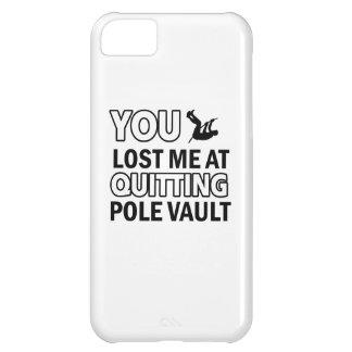Pole vault designs iPhone 5C case
