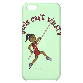 Pole Vault - Red (Dark) Cover For iPhone 5C
