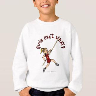 Pole Vault - Red (Light) Sweatshirt