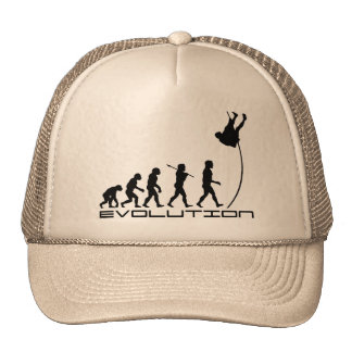 Pole Vault Sport Evolution Art Cap