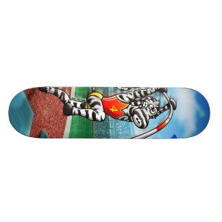 Pole Vault Zebra 19.7 Cm Skateboard Deck