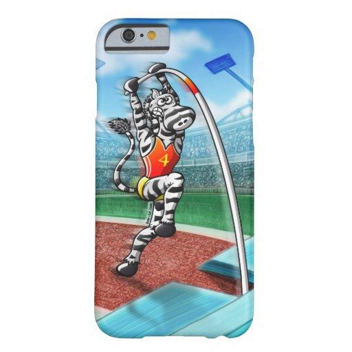 Pole Vault Zebra iPhone 6 Case