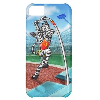 Pole Vault Zebra iPhone 5C Case