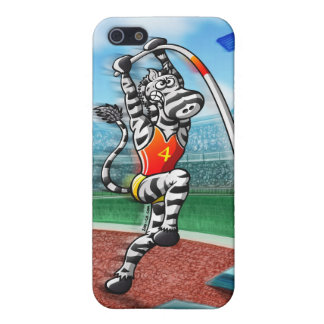 Pole Vault Zebra iPhone 5/5S Case