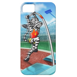 Pole Vault Zebra iPhone 5 Case