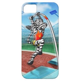 Pole Vault Zebra iPhone 5 Case