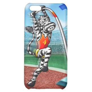 Pole Vault Zebra Cover For iPhone 5C