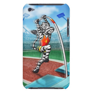 Pole Vault Zebra iPod Case-Mate Cases