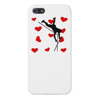 Pole Vaulter Hearts Covers For iPhone 5