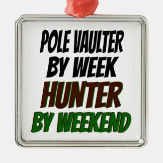 Pole Vaulter Hunter Christmas Ornament