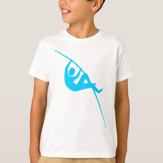 Pole Vaulting - Sky Blue T-shirt