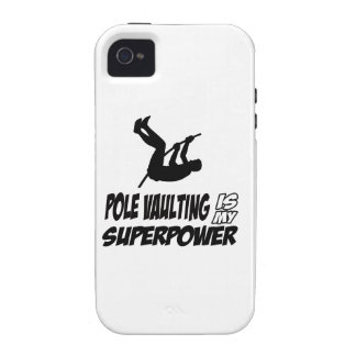 pole vualting is my superpower iPhone 4 cover