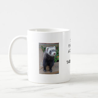 Polecat ferret coffee mug