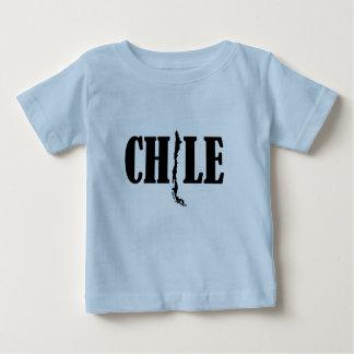 Polera Chile Mapa Bebe 2 - 2013 Tee Shirt