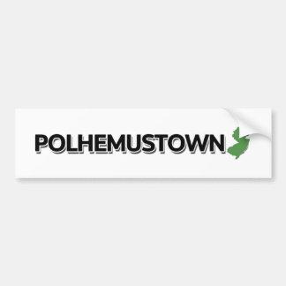 Polhemustown New Jersey Bumper Sticker