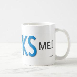 Poli Ticks Me Basic White Mug
