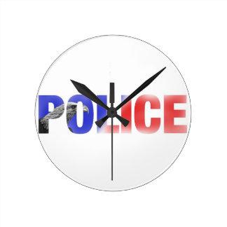 Police 2 round clock