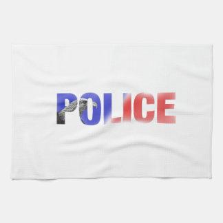 Police 2 tea towel