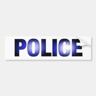 Police 3 bumper sticker
