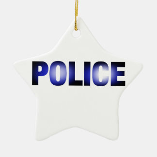Police 3 christmas ornament