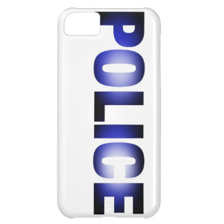 Police 3 iPhone 5C case