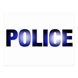 Police 3 postcard