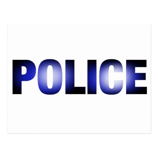 Police 3 post cards