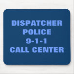 Police 9-1-1 mouse pad