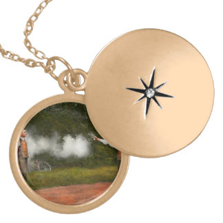 Police - A real dummy 1923 Locket Necklace