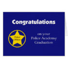 Police Academy Graduation Card -- Congratulations