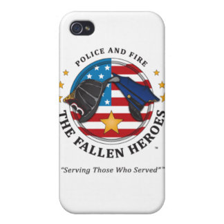 Police and Fire: The Fallen Heroes-iphone4 case iPhone 4 Cases