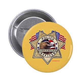 Police_Badge_Officer - Lt 6 Cm Round Badge