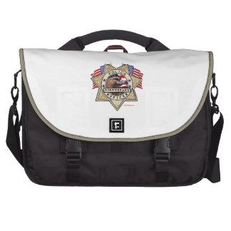 Police_Badge_Officer - Lt Laptop Computer Bag