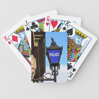 Police Bicycle Playing Cards